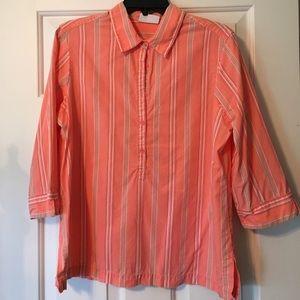 Summer 3/4 sleeve blouse